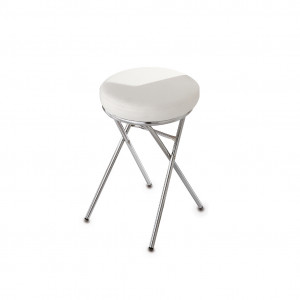 Upholstered stool f. manicure table