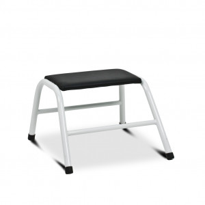 Black one-step ladder
