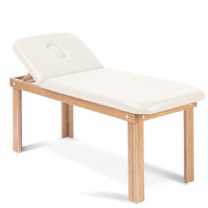 1-fold wooden massage bed face hole