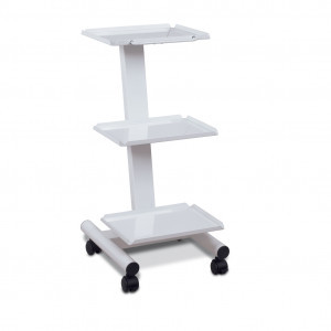 3-shelf trolley steel with electricconnection