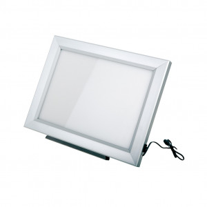 Negativoscopio slim led 42 x 49 cm