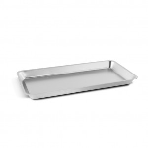 Stainless steel small tray 20x10 cm