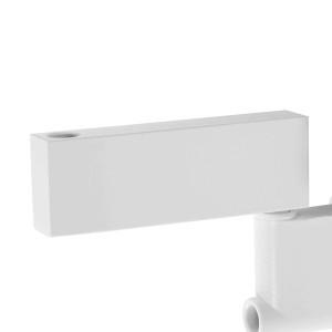 Distanziatore da parete colore bianco, per lampade afma