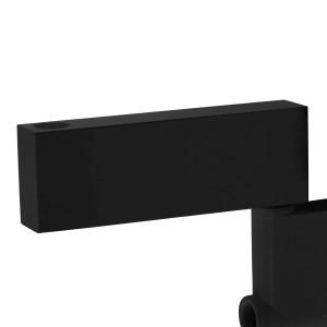 Distanziatore da parete colore nero, per lampade Afma
