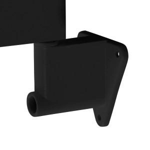 Attacco a parete per lampade Afma - colore nero