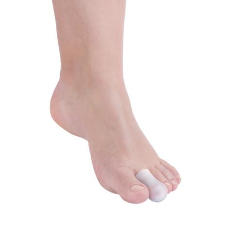 Protezione per dita dei piedi in Tecniwork Polymer Gel  trasparente misura Large 2 pz