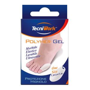 Protezione sottile per quinto dito del piede in Tecniwork Polymer Gel trasparente 1 paio