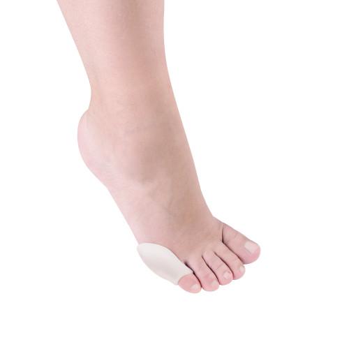 Protezione sottile per quinto dito del piede in Tecniwork Polymer Gel trasparente 4 pz