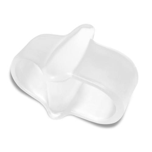 Separatore e divaricatore a doppio anello in gel per alluce Alluxcare 1 pz