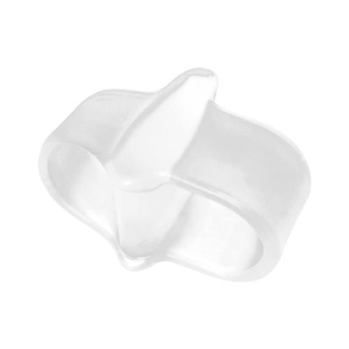 Separatore e divaricatore a doppio anello in gel per alluce Alluxcare Espositore da 6 pz