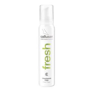Schiuma antitraspirante per piedi con eccessiva sudorazione Callusan Fresh 125 ml