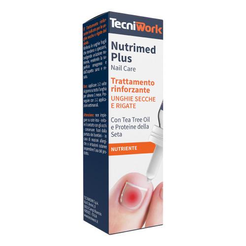 Trattamento unghie rinforzante per unghie secche e rigate Nutrimed Plus 15 ml