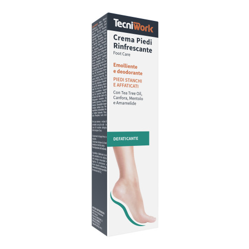 Crema piedi rinfrescante, emolliente e deodorante 75 ml