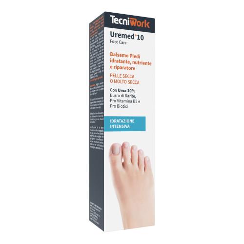 Balsamo piedi idratante, nutriente e riparatore con 10% di Urea Uremed+10 75 ml