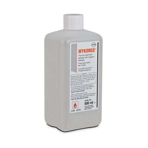 Fluido professionale igienizzante e deodorante per il piede Mykored 500 ml