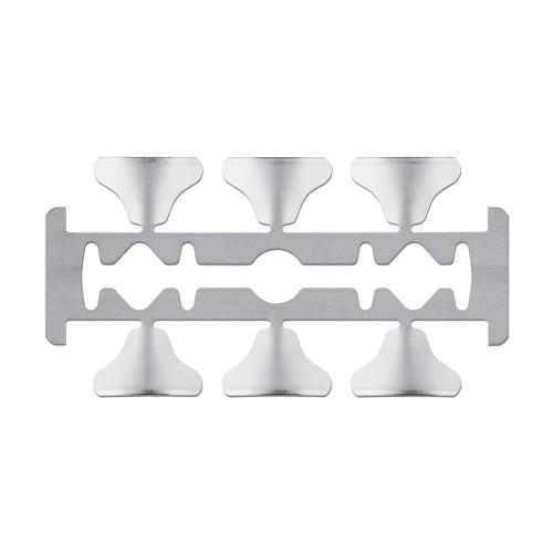 Microlame professionali sterili e monouso in confezionamento multiplo Premium misura 3 96 pz