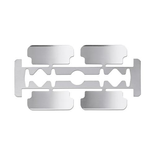 Microlame professionali sterili e monouso in confezionamento multiplo Premium misura 4 48 pz
