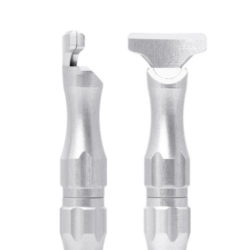 Manico universale in Alluminio per microlame Tecniwork misura 4-5
