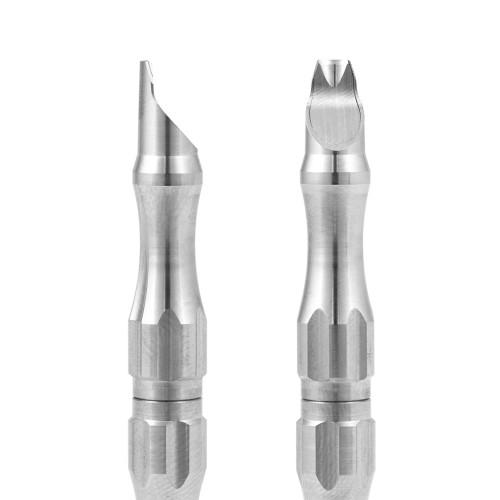Manico universale in Acciaio Inox per microlame Tecniwork misura 0-0,5-1