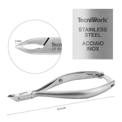 Tronchese professionale per cuticole Taglio 3 mm