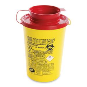 Plastikbehaelter f.entsorgung klingen 1 stk.