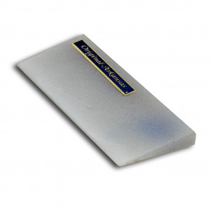 Modeled sharpening stone arkansas