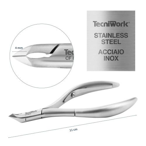 Tronchese professionale per cuticole Taglio 4 mm