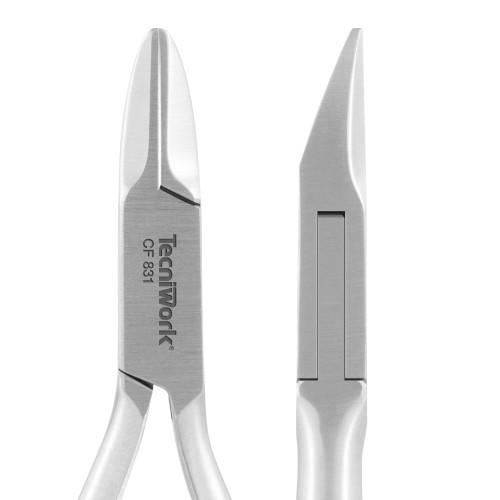 Tronchese professionale con punta tonda per unghie Taglio Retto 15 mm