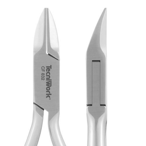 Tronchese professionale con punta tonda per unghie Taglio Retto 16 mm