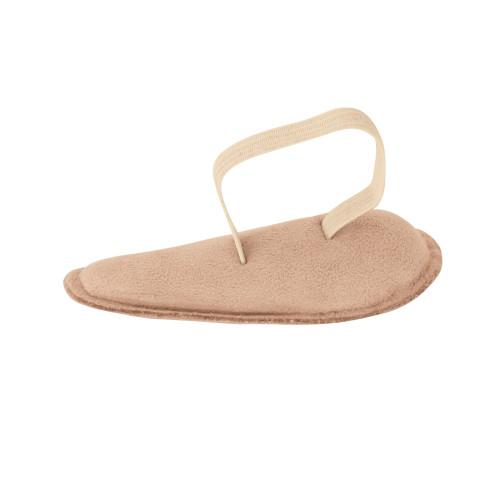Cuscinetto per dita del piede rivestito in pelle scamosciata misura Medium 1 paio