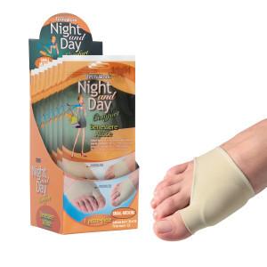 Cuscinetto Benessere Alluce tessuto e gel Night and Day Misura S/M Espositore 6 confezioni