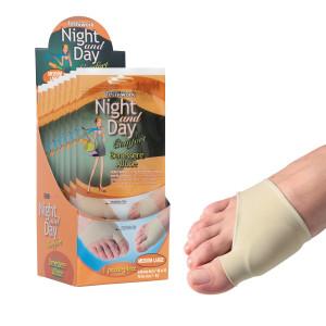 Cuscinetto Benessere Alluce in tessuto e gel Night and Day Misura M/L Espositore da 6 confezioni