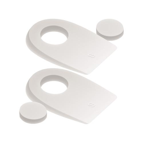 Talloniere in silicone con cuscinetto centrale removibile misura Small 1 paio