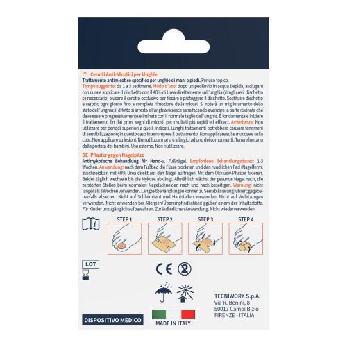 Cerotti antimicotici per le unghie di mani e piedi con 40% di Urea 12 pz