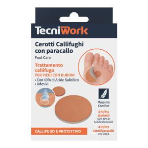 Cerotti callifughi per piedi con paracallo e 40% di Acido Salicilico 4 pz