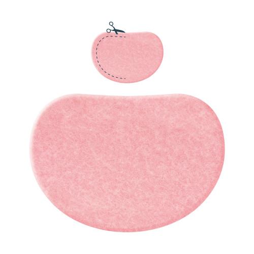 Espositore pad in feltro sagomato 12 pz