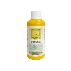 Disinfettante per cute ad ampio spettro LH Iodo 10 Iodopovidone 10% 500 ml