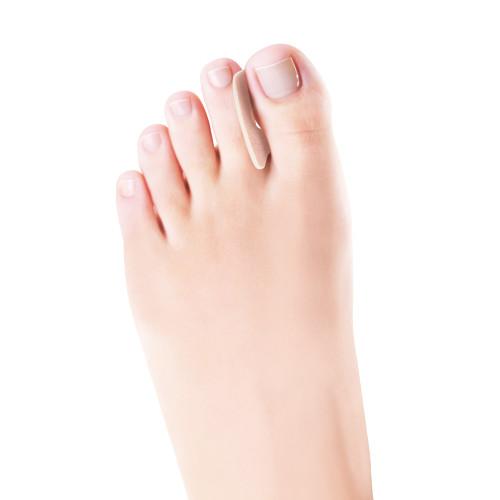 Paracalli protettivi per le dita dei piedi con foro centrale in lana 6 pz