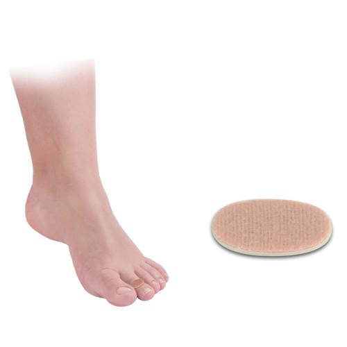 Paracalli protettivi per il piede ovali piccoli in lana 96 pz