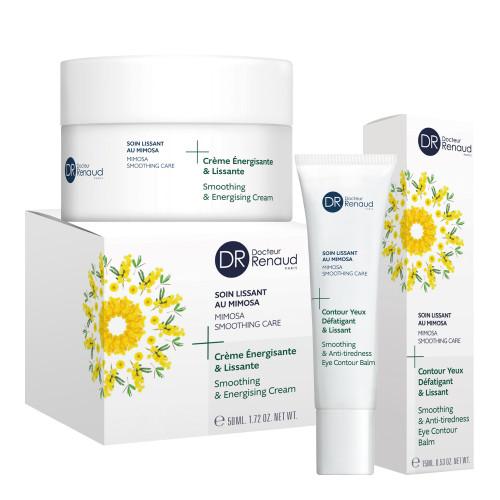 Promozione crema viso 50 ml + gel crema contorno occhi 15 ml alla Mimosa Dr Renaud