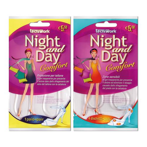 Linea Protezioni Benessere Piedi Night and Day Espositore girevole da 54 confezioni