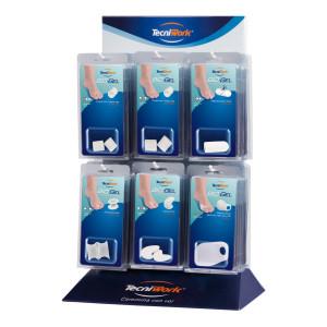 Protezioni per il piede Bio-Gel in Tecniwork Polymer Gel trasparente Espositore da 36 pz