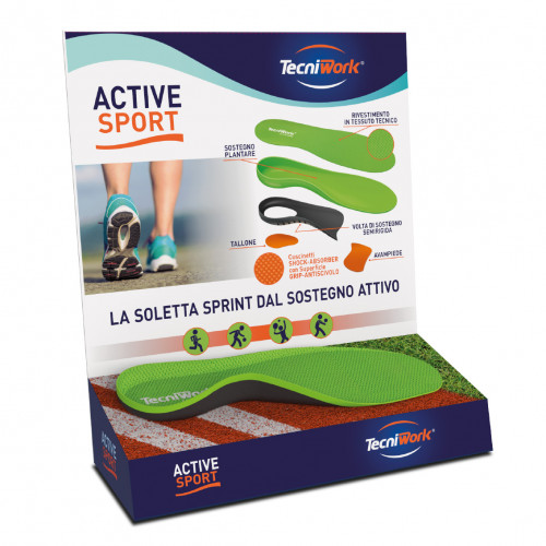 Display solette active sport touch-me
