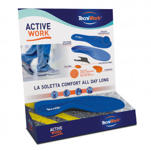 Display solette active work touch-me