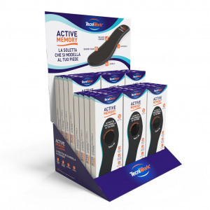 Display act. memory insoles 24pairs