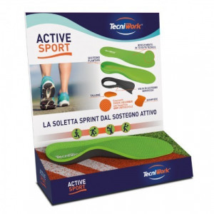 Display touch active sport con 10pa