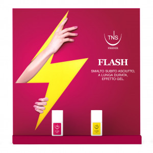 Espositore flash base+top 18+2 pz