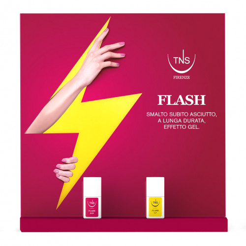 Espositore Flash Base e Flash Top 18 pz + 2 pz Omaggio