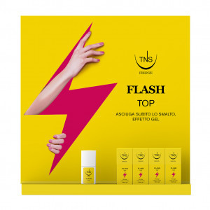 Espositore flash top 16+1 pz