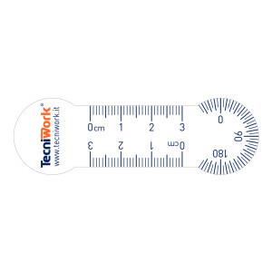 Kit misuratore per unghie 10 pz